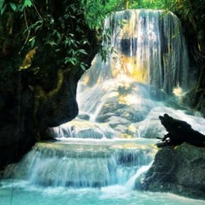 Aguinid Wasserfall